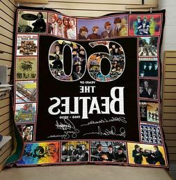 60 years of the Beatles , Thank for the memories Quilt blank
