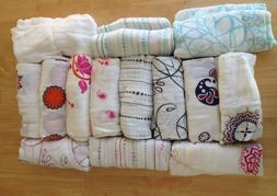 """Aden and Anais Bamboo Swaddle Blanket Boutique 47"""" x 47"""" Man"""