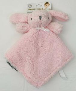 Blankets and Beyond Baby Girls Pink Fuzzy and Soft Nunu w/ P
