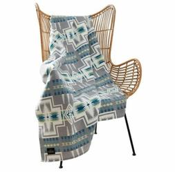 Pendleton Home Collection Harding Luxe Gray Multi Color Thro