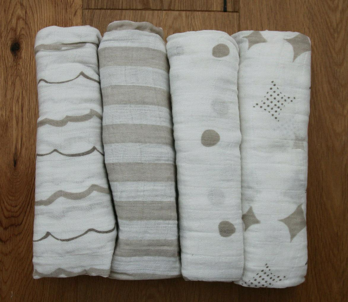 aden anais classic baby swaddle blanket shine