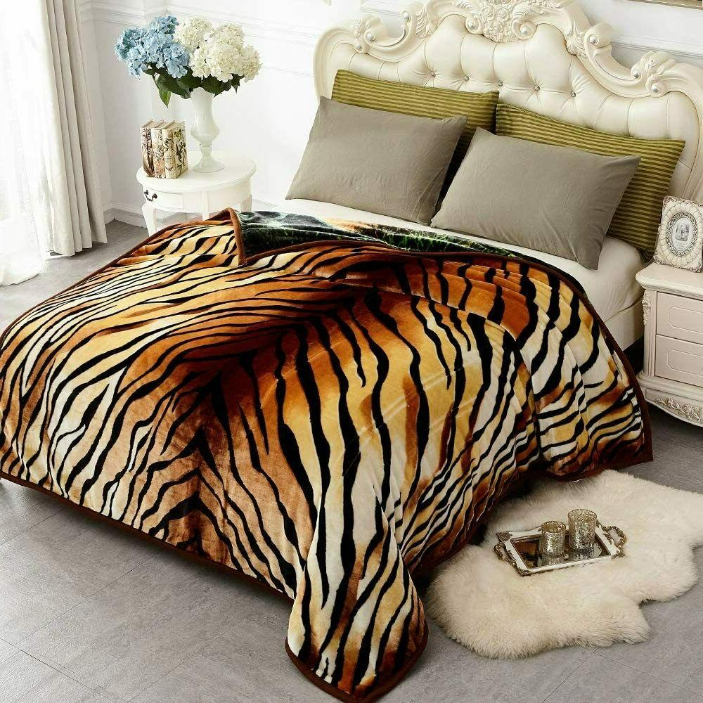 Korean Ply Thick Blanket Super Queen Size