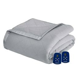 Thermee Micro Flannel Electric Heated Blanket