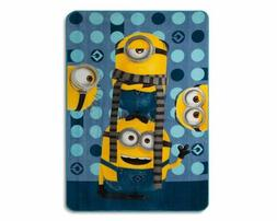 Despicable Me 3 Minions Yellow & Blue Bed Blanket