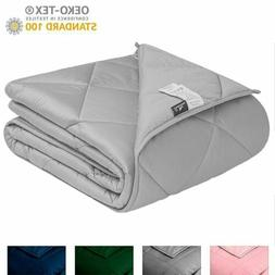 Queen Size Weighted Blanket 20 lbs 60''x80'' for Adults Heav