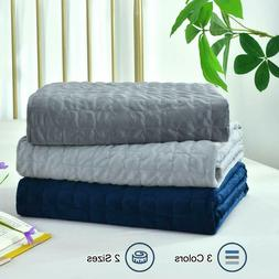 Removable Duvet Cover for Weighted Blanket 60x80 / 48x72 Dar