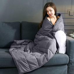 Weighted Blanket for Adults 20lb, 60''x 80'', Heavy Blanket