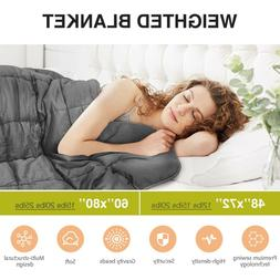 Weighted Blanket Reduce Stress Promote Deep Sleep 12 15 20 2